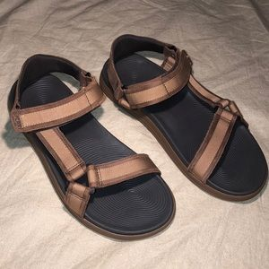 Sperry Tan Leather Sandals